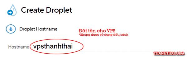 Đặt hostname cho vps của bạn