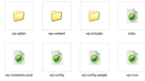 Thư mục wp-content