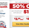 Hostgator coupon American Red Cross