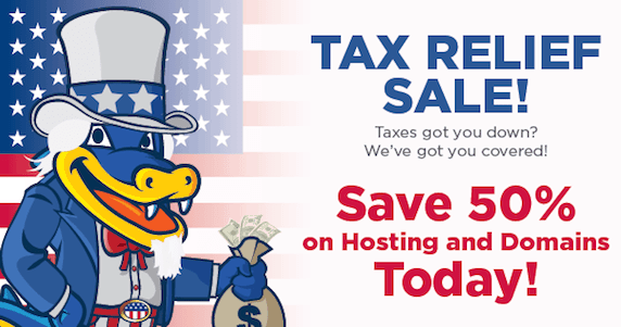 Hostgator coupon 2014 - Hostgator tax day