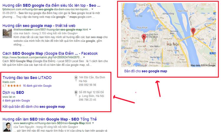 Thủ thuật này sẽ giúp bạn seo google địa điểm chỉ sau khoảng 30s