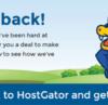Hostgator giảm giá 75% từ nay đến tháng 9