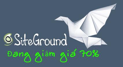 Siteground giảm giá 70% trong vòng 72h - thanhthai blog