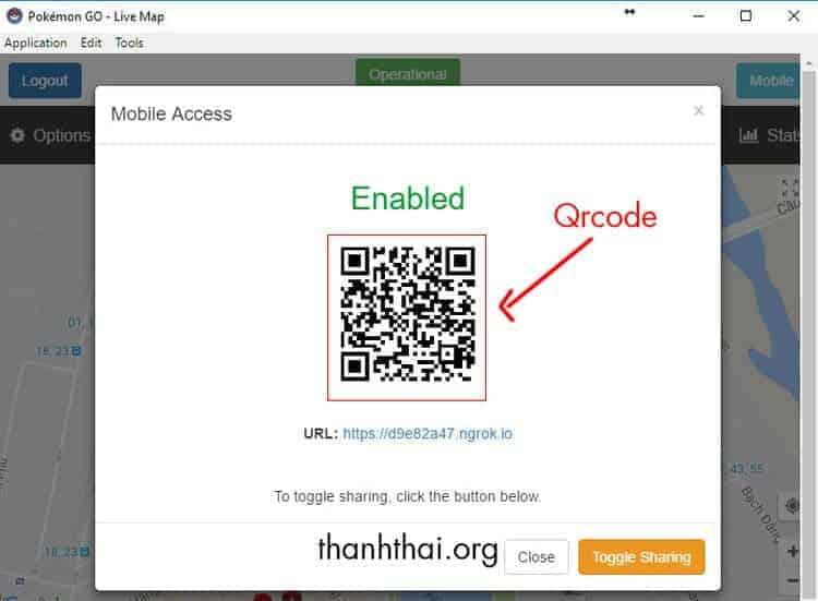 Dùng điện thoại để quét mã Qrcode