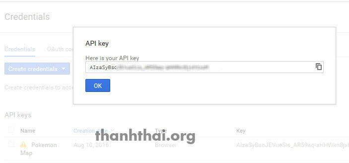 Mã google map api key