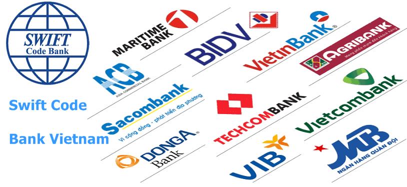 Swift/BIC Code của các ngân hàng Việt Nam