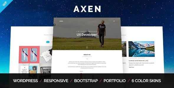 Download Axen WordPress Theme
