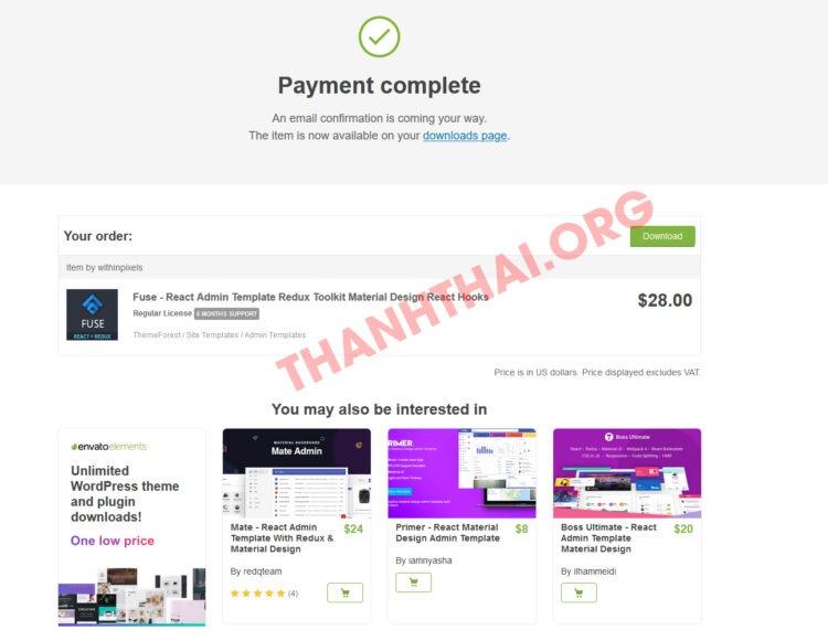 Hình ảnh mua theme WordPress giá rẻ