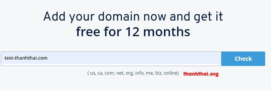 [Kèo ngon] Hướng dẫn đăng ký tên miền + hosting miễn phí 1 năm